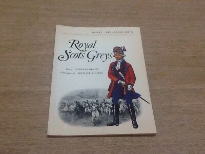 The Royal Scots Greys  - osprey men at arms Series 1972 - Military History Book