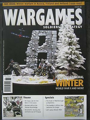 Wargames Soldiers & Strategy January February 2017 General Winter World War II 2
