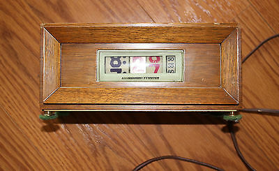 Pennwood Model 851 Wood Numechron Tymeter Working Condition