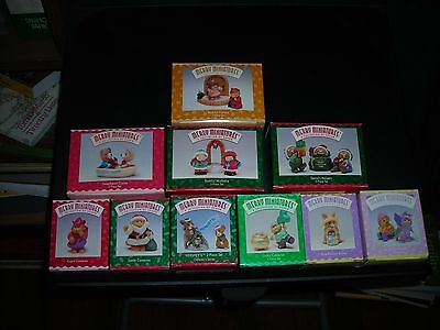 Lot Of Hallmark Holiday Merry Miniatures