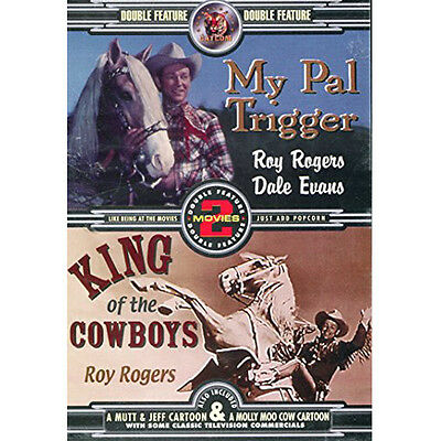 Double Feature - My Pal Trigger & King of Cowboys (DVD) Roy Rogers, George Hayes