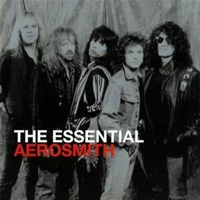 AEROSMITH: THE ESSENTIAL 30 TRACK 2x CD THE VERY BEST OF / GREATEST HITS / NEW