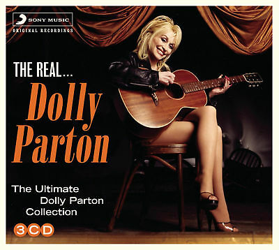 DOLLY PARTON THE REAL - ULTIMATE COLLECTION 3x CD GREATEST HITS / BEST OF SEALED