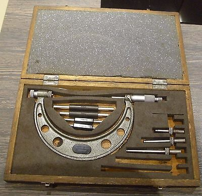 MITUTOYO 104-161 outside micrometer in original box 50mm - 150mm