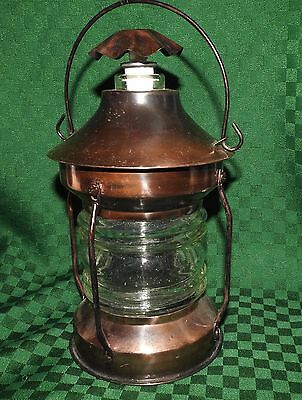 """Lantern/decanter Copper Musical """"how Dry I Am"""""""