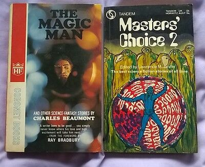 4  RARE 1960/70'S  SCI-FI P/b's ANTHOLOGIES Incl.WORLDS BEST SF 1