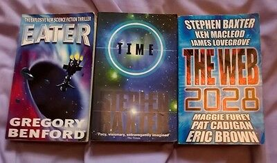 3  P/B   1990/00's   SCI-FI  TITLES - EATER/TIME/THE WEB 2028