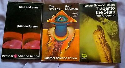 3 RARE  CLASSIC 1960/70'S  SCI-FI P/b's  from POUL ANDERSON