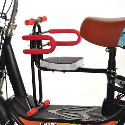 Portable Bike Bicycle Child Seat Saddle Children Kids Baby Carrier Front HM M3C0
