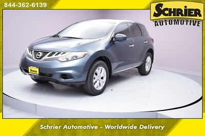 2014 Nissan Murano  14 Nissan Murano AWD Blue Auxiliary Audio 12 Volt Dual Climate Control