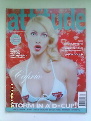 ATTITUDE MAGAZINE No.39 JULY 1997 CAPRICE COVER N/MINT
