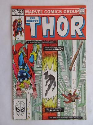 Thor # 324 - NEAR MINT 9.4 NM - Avengers Hulk Iron Man Captain America MARVEL!!