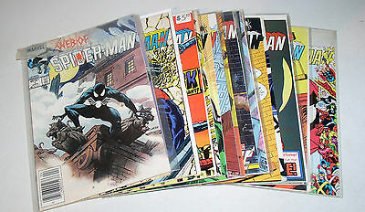 WEB OF SPIDER-MAN #1 to #16 Run of Sixteen (16) Comics + 19 and 20