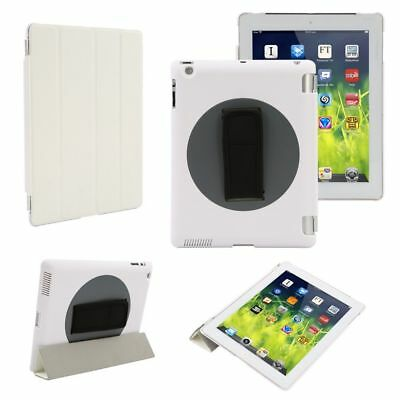 360°Rotating Handheld Leather Case Cover with Hand Strap for iPad air 1 / iPad 5