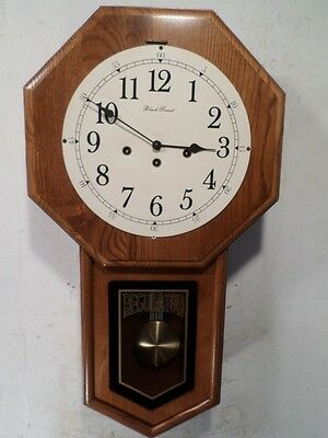 Signed Black Forest Quarter Chiming Wall Clock