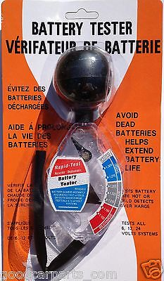HYDROMETER BATTERY TESTER - Brand New - The Best - Quick Tester Good