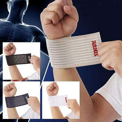 1Pcs Polyester Sports Band Wristband 40*7.5CM Sweatband for Basketball/Tennis W{