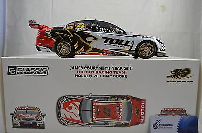 1:18 #22 James Courtney's 2013 - Holden Racing Team - Holden VF Commodore