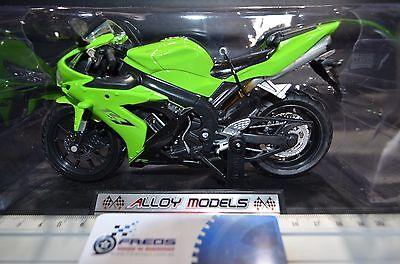 1:12 Racing Yamaha YZF-R1 Alloy Models Diecast LIME Motorcycle Bike Model