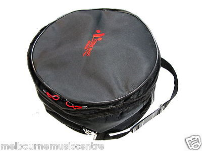 """MMC SNARE DRUM PADDED BAG Suits 14"""" x 6""""-6½"""" Snare Drum *15mm Foam Padding* NEW!"""