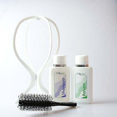 (39,90 €/L ) wittkötter perruques - soin SET - Shampooing Baume accessoires