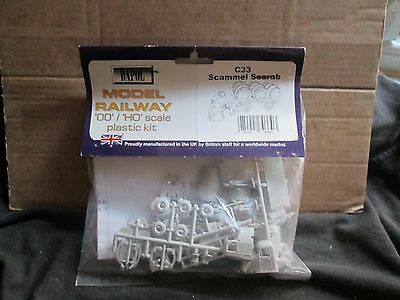 Dapol C33 Scammell Scarab (Oo/ho Scale) Unmade In Bag
