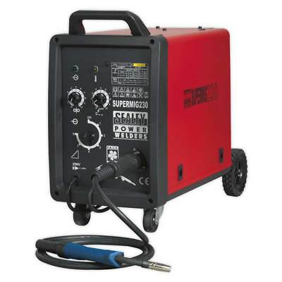 Sealey Professional MIG Welder 230 Amp 230V with Binzel Euro Torch Garage Tools