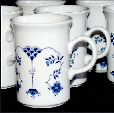* 6 Churchill China Finlandia Coffee Mugs England