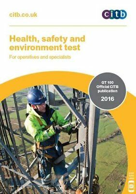 Health, Safety and Environment Test for Operatives and Specialists: GT 100/16 ,