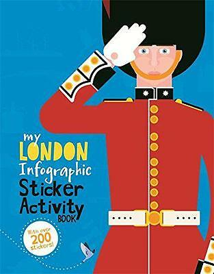 London (My Infographic Sticker Activity Book) by Barnham, Kay | Paperback Book |