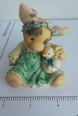 """ENESCO Pig This Little Piggy 1995 """"Ducky To Have A Friend Like You!"""""""