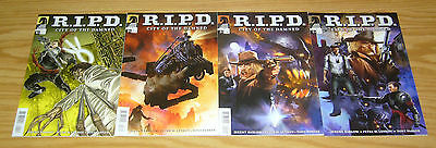 R.I.P.D.: City of the Damned #1-4 VF/NM complete series - RIPD dark horse comics