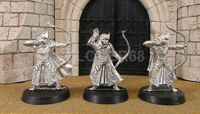 HALDIR'S ELVES - Lord Of The Rings 3 Metal Figure(s)