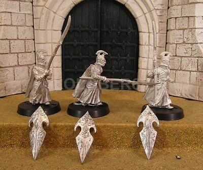 ELF SPEARMEN - Lord Of The Rings 3 Metal Figure(s)