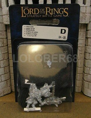 DWARF IRON GUARDS - Lord Of The Rings 3 Metal Figure(s)