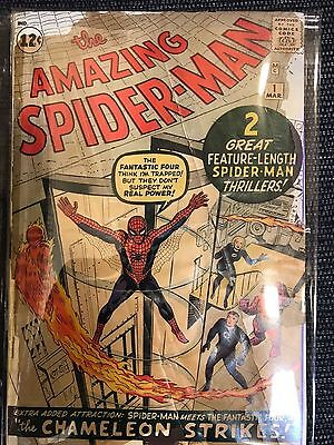 (1963) AMAZING SPIDER-MAN #1! Affordable Copy! Stan Lee! Steve Ditko!