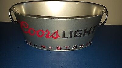 L@@K Coors Light beer NCAA basketball  bucket Marquette Kansas Alabama all teams