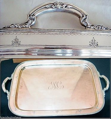 Huge Antique Gorham Sterling Silver Tray - Great Provenance (#3715)