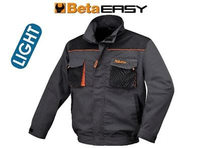 Beta Tools 7869E Work Jacket Lightweight Zip Up Coat Workwear Top Safety