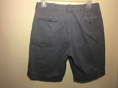 Mens J.Crew Casual Short Size 30 - Shorts - Blue - Cotton - Stanton