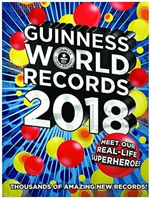 Guinness World Records 2018 by Guinness World Records New Hardback Book