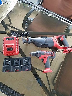 Snap On 18V Cordless Monster Lithium Saw & Hammer Drill #ctrs8850, #cdr8850H