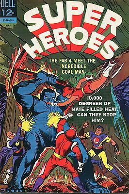 Super Heroes # 3 - Dell Comics  - 1967 - Sal Trapani Art - Cents Copy