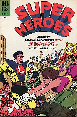 Super Heroes # 2 - Dell Comics  - 1967 - Sal Trapani Art - Cents Copy