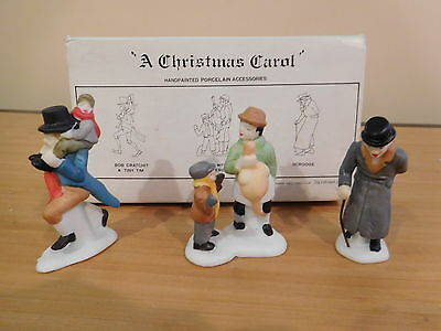 Dept 56 Dickens Village - A Christmas Carol Characters