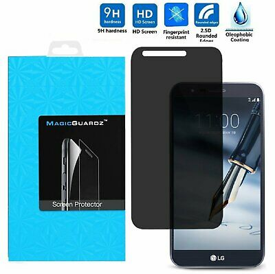 Anti-Spy Peeping Privacy Tempered Glass Screen Protector For LG G Stylo 3 PLUS