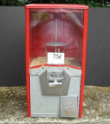 MVT - Northwestern Gumball Machine, .75 Coin Mechanism, Very Good Condition!