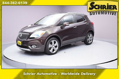 2014 Buick Encore Leather Sport Utility 4-Door 14 Buick Encore Metallic Brown Leather Heated Seats Cargo Cover