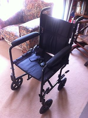 Auscare Maxlite Transit Shopper 8 Wheelchair, in very good condition.