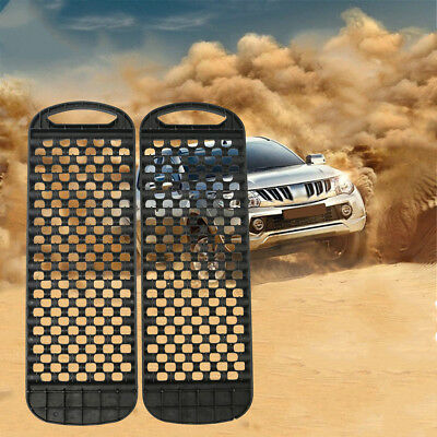 1 Pair Durable Car Mud Track Recovery Grass Ice Off Road Emergency Tyre Ladder